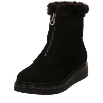 Alpe Woman Shoes Komfort Stiefelette schwarz