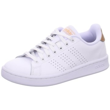 adidas Sneaker LowADVANTAGE - F36223 weiß