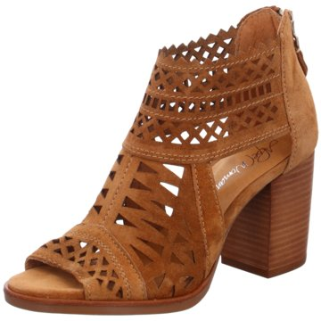 Alpe Woman Shoes Schaftsandalen braun