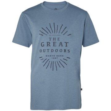 North Bend T-Shirts grau