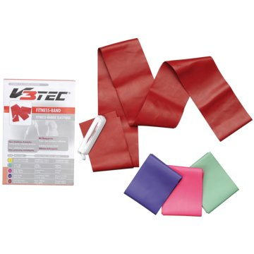 V3Tec GymnastikbänderFITNESS BAND 75 MM - 200 CM - 1023463 -
