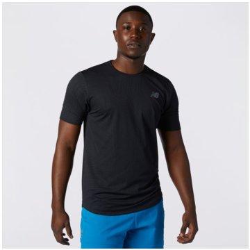 New Balance T-ShirtsQ SPEED SS - MT11278_BK schwarz