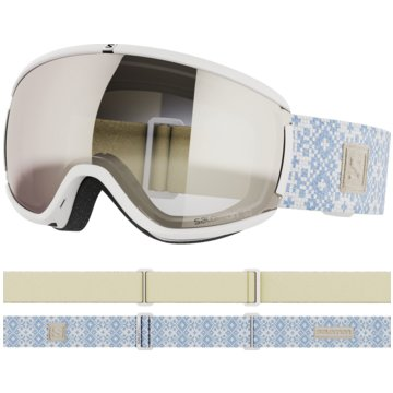 Salomon Ski- & SnowboardbrillenIVY WHITE/UNIV. SUPERWHITE NS - L41147400 weiß