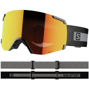 Salomon Ski- & SnowboardbrillenS/VIEW BKBRAND/UNI MID RED NS - L41153100 schwarz