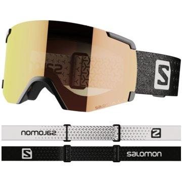 Salomon Ski- & SnowboardbrillenS/VIEW PHOTO BK/AW RED NS - L41153400 schwarz