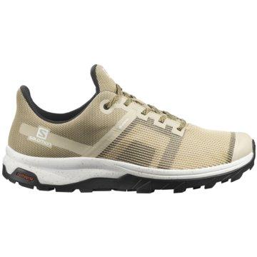 Salomon Outdoor SchuhOUTline PRISM GTX - L41304600 beige