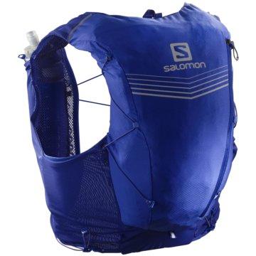Salomon RunningrucksäckeADV SKIN 12 SET CLEMATIS BLUE/EBONY - LC1512500 blau