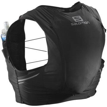 Salomon RunningrucksäckeSENSE PRO 10 SET BLACK 2XS - LC1512700 schwarz