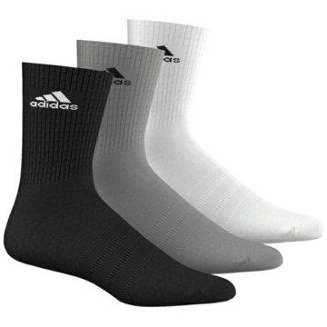 adidas Hohe Socken3S Performance Crew HC Socks 3Pack schwarz