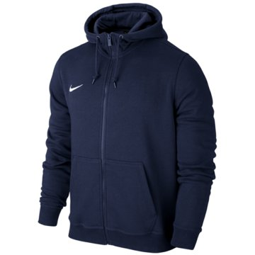 Nike FleecejackenTeam Club FZ Hoody blau