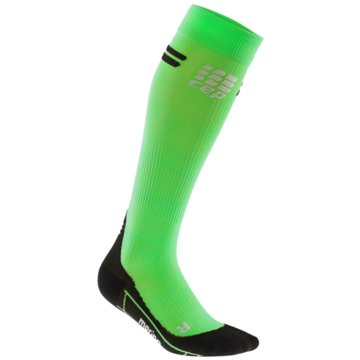 CEP KniestrümpfeProgressive+ Run Merino Socks grün