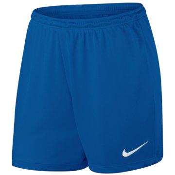 Nike Teamwear & TrikotsätzePark II Knit Short NB Women blau