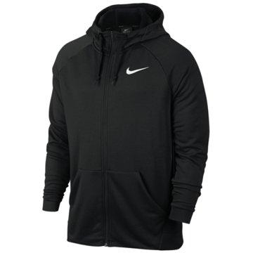Nike SweatjackenMEN'S NIKE DRY TRAINING HOODIE - 860465 schwarz