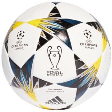 adidas FußbälleFinale Kiev Top Training weiß