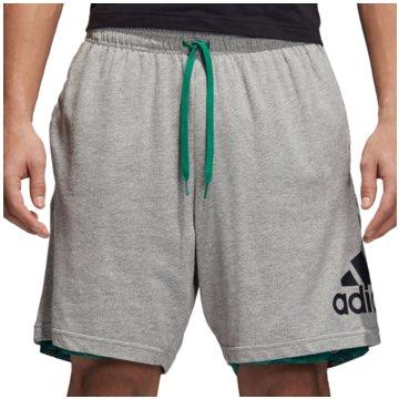 adidas Kurze HosenSport ID Reversible Shorts grau