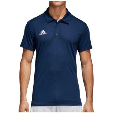 adidas PoloshirtsCORE 18 CLIMALITE POLOSHIRT - CV3589 blau