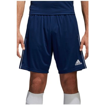 adidas Fußballshorts blau