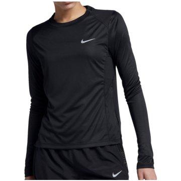 Nike LangarmshirtsDry Miler LS Running Top Women schwarz