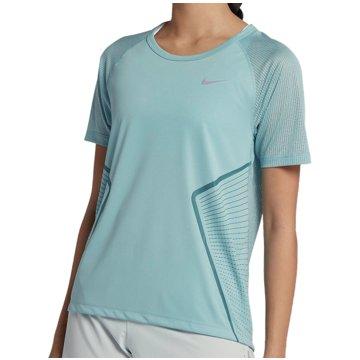 Nike FunktionsshirtsDry Miler Grafik SS Top Women blau