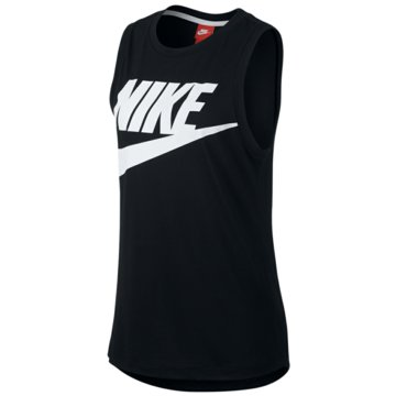 Nike TopsEssential Muscle High Brand Tank Women schwarz