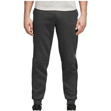 adidas Lange HosenSport ID Logo Fleece Pant grau