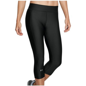 Under Armour 3/4 Sporthosen CAPRIHOSE HEATGEAR® ARMOUR - 1309652 schwarz
