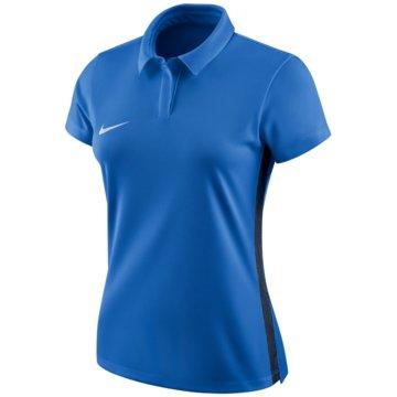 Nike LangarmshirtDry Academy 18 SS Polo Women blau