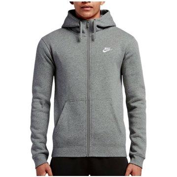 Nike SweatjackenSportswear FZ Fleece Club Hoodie grau