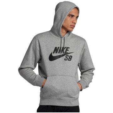 Nike HoodiesSB Icon Hoodie grau