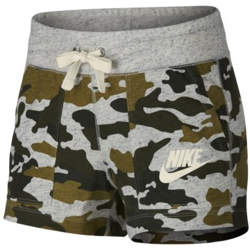 Nike Kurze HosenCamo Gym Vintage Sportswear Short Women grau