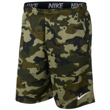 Nike HerrenDry Camo Short grün