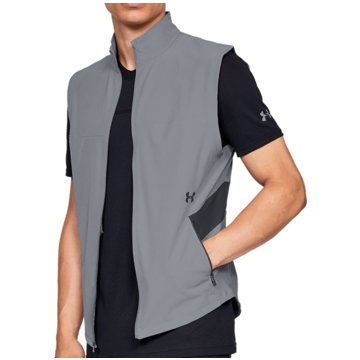 Under Armour WestenMicrothread Vanish Bodywarmer Hybrid Vest grau
