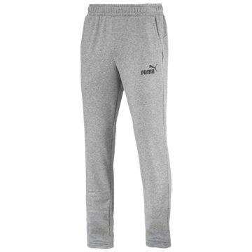 Puma Lange HosenESS Logo Pants TR op grau