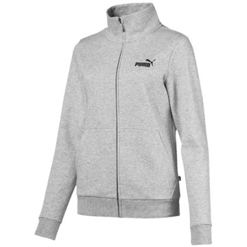 Puma SweatjackenEssentials Fleece Track Jacket Women grau
