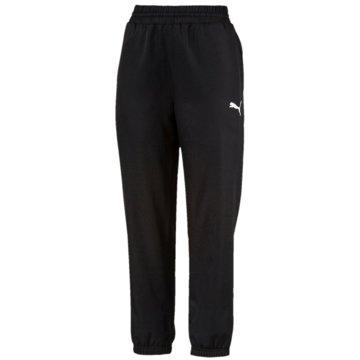 Puma Lange HosenActive Woven Pants Women schwarz