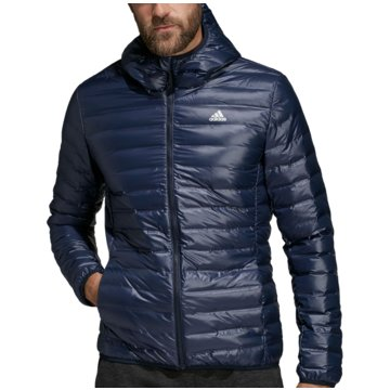 adidas FunktionsjackenVarilite Hooded Down Jacket blau