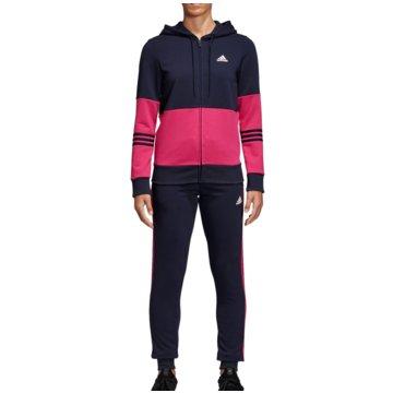 adidas TrainingsanzügeCotton Energize Tracksuit Women blau