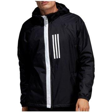adidas TrainingsjackenWind Fleece Jacket schwarz