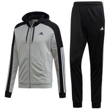 adidas TrainingsanzügeTrack Suit Game Time grau