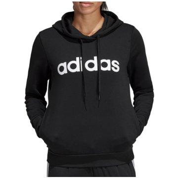 adidas HoodiesEssentials Linear Over Head Hoodie Women schwarz