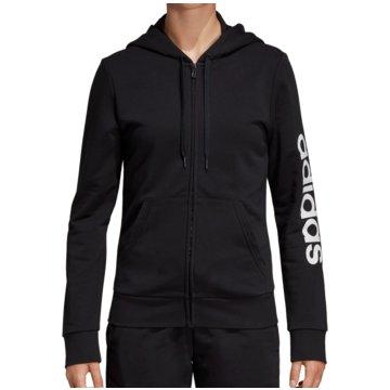 adidas HoodiesW E LIN FZ HD - DP2401 schwarz