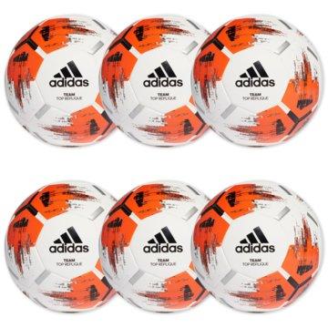 adidas BälleTeam Top Replique 6er Ballpaket weiß