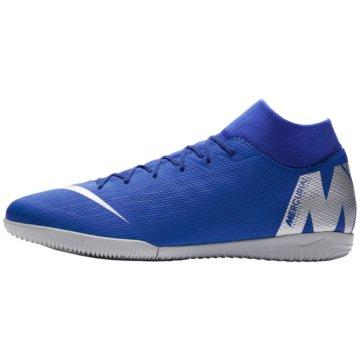 Nike Hallen-SohleMercurialX Superfly VI Academy IC blau