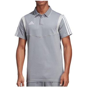 adidas Poloshirts grau