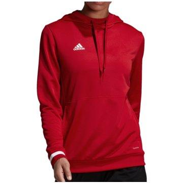 adidas SweaterTEAM 19 HOODIE - DX7338 rot
