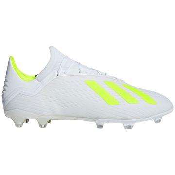 adidas Stollen-SohleX 18.2 FG Fußballschuh - BB9364 weiß