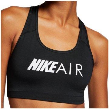 Nike Sport-BHsAir Swoosh Graphic Bra Women schwarz