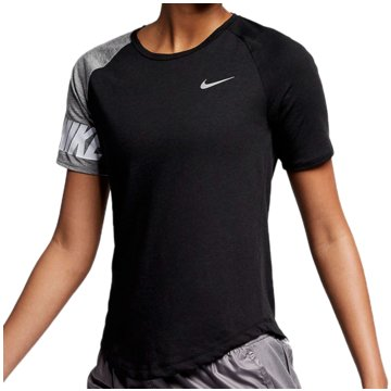 Nike T-ShirtsMiler GFX Top SS Women schwarz