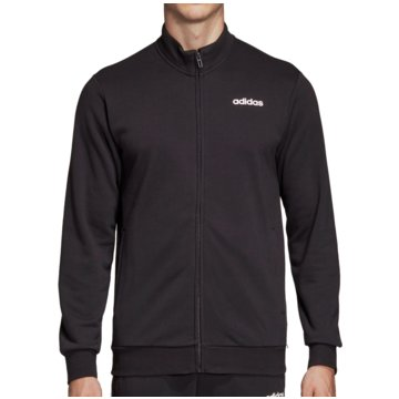 adidas TrainingsjackenEssentials Linear Track Top French Terry schwarz