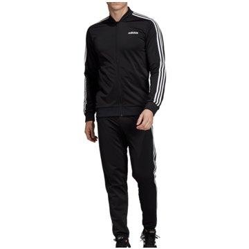 adidas TrainingsanzügeTracksuit Basic 3-Stripes schwarz